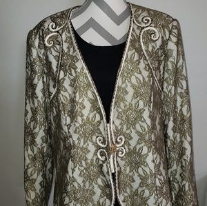 Milano special occasion dress coat plus size 20W